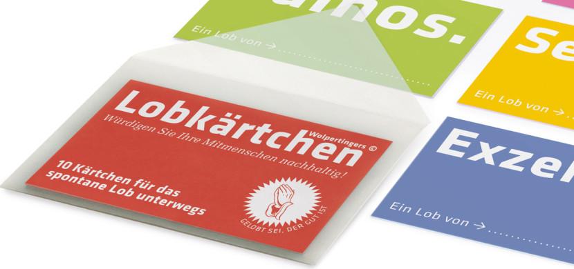Lobkärtchen »to go«