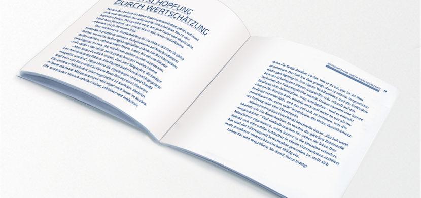 Buch »Vom Wert des Lobes« (Unternehmen)